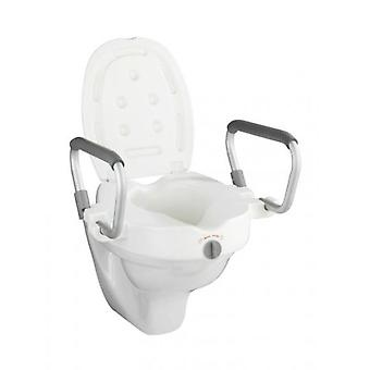 Wenko Raised Toilet seat with armrest  Secura (Home , Badkamer , Badkamerveiligheid)