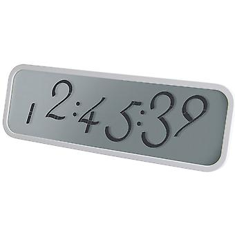 Reloj de pared Digital blanco Script de Lexon