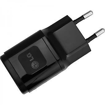LG viaggi caricabatterie USB power adapter 1800mAh MCS-04ED - nero