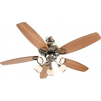 "Globo Ceiling Fan Mistral 130 cm / 51"" with pull cord"