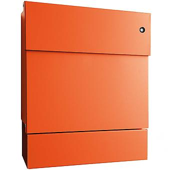 RADIUS letterbox Letterman 5 orange with LED Ring blue + newspaper role A 561 KB