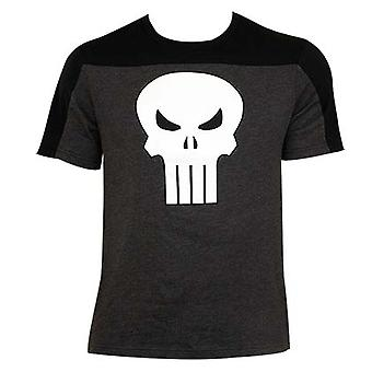 Punisher tofarvet T-shirt