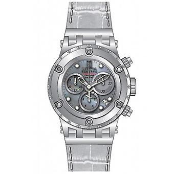 Invicta vrouwen 14607 Jason Taylor analoge Display Swiss Quartz horloge wit
