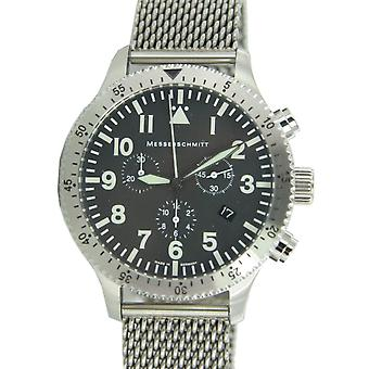 Aristo Messerschmitt Men's clock Chrono Pilots Watch ME 5030M / 5030M
