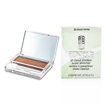 Clinique All About Shadow - # 02 Black Honey (Super Shimmer) 2.2g/0.07oz