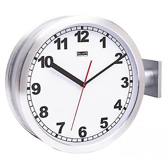 Balance double-sided station clock