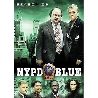 NYPD Blue: Season 6 [DVD] USA import