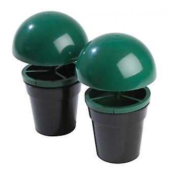 Set of 2 Non Toxic Non Chemical Slug & Snail Trapper for Home Garden