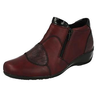 Ladies Remonte Warmlined Ankle Boots R9884