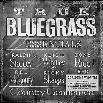 Ægte Bluegrass Essentials - sande Bluegrass Essentials [CD] USA importerer