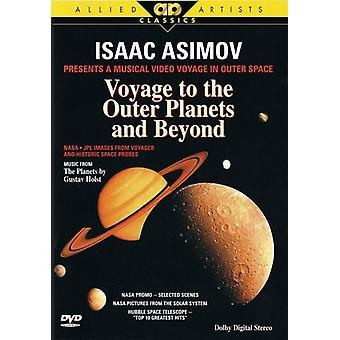 Isaac Asimov-sejlads til de ydre planeter & Beyond [DVD] USA import