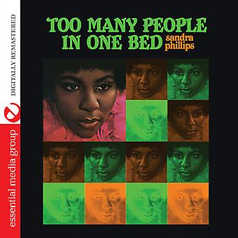 Sandra Phillips - Too Many People in One Bed [CD] USA import