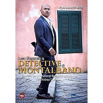 Detective Montalbano: 27 & 28 with Montalbano [DVD] USA import