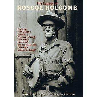 Roscoe Holcomb - Legacy of Roscoe Holcomb [DVD] USA import