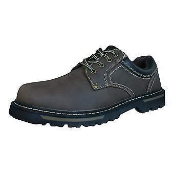 Galaxy Steve Mens Lace Up Shoes - Brown