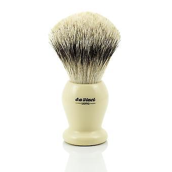 Pędzel do golenia Borsuk srebrnopłetwe programu da Vinci UOMO 291 | średnicę Ø25mm