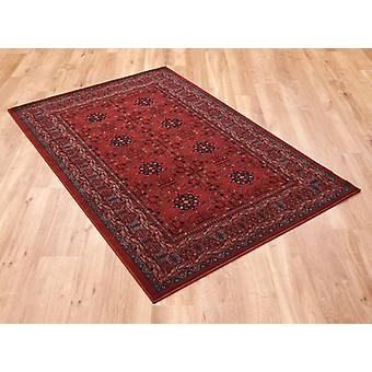 Kashqai 4302 300 Red  Rectangle Rugs Traditional Rugs