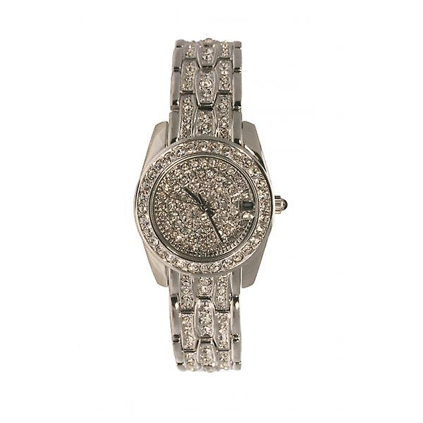 W.A.T Crystal Encrusted Women's Watch