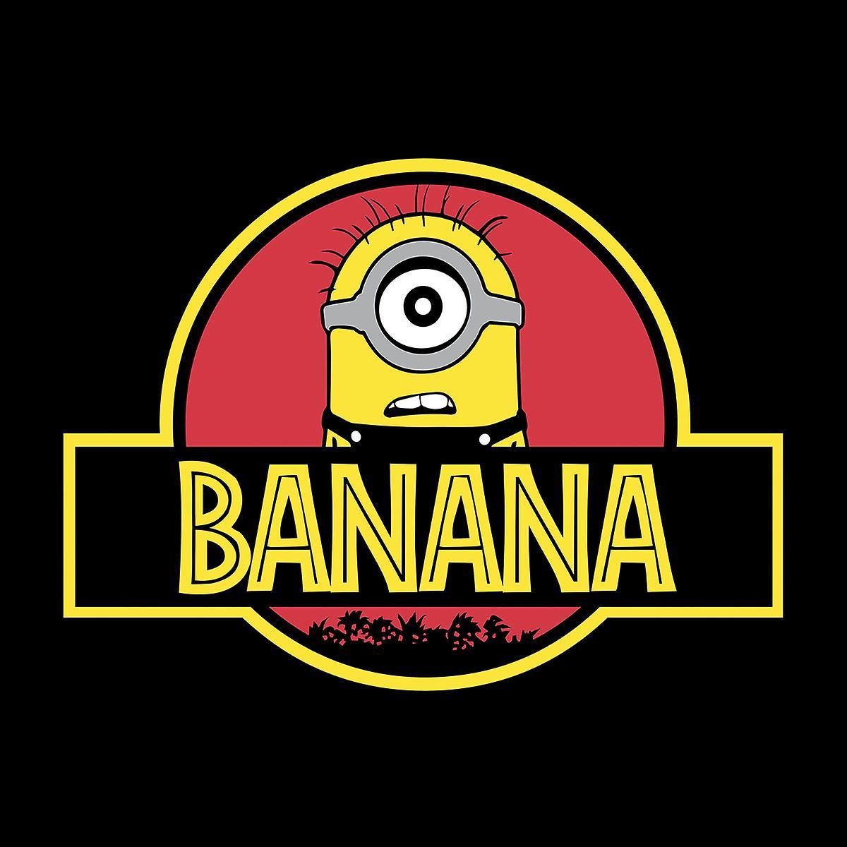 Minions Jurassic Park Banana Men's Vest