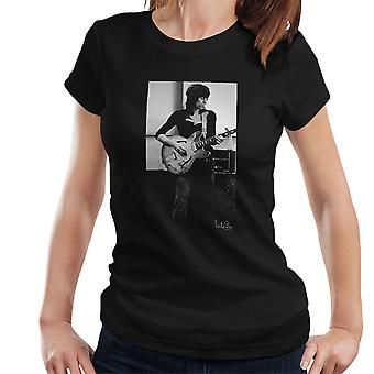 Rolling Stones Keith Richards giocando t-shirt chitarra donna