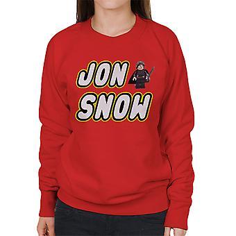 Game Of Thrones Lego Jon Snow Women's Sweatshirt