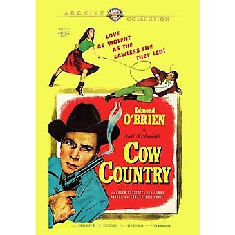 Cow Country (1953) [DVD] USA import