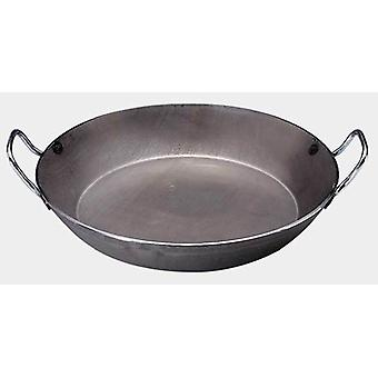 De Buyer Sarten Lionesa With 2 Handles - Iron, Superior Quality Ø 24 cm