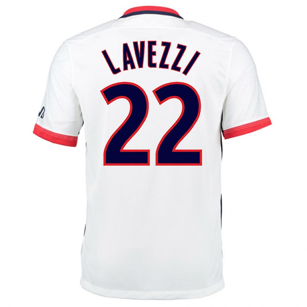 2015-16 PSG Nike Away Kit (Lavezzi 22) - Kids