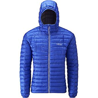 Rab Mens Nimbus Jacket Electric/Zinc (Large)