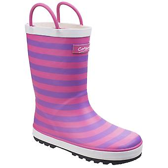 Cotswold capitaine Childrens Wellies rayé