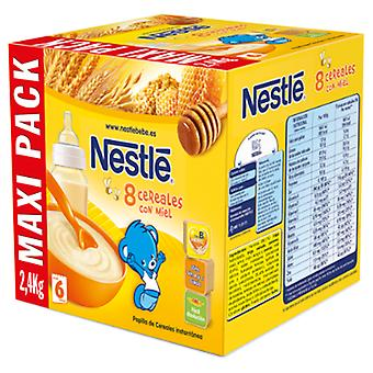 Nestlé Papilla 8 Cereales con miel 2400 gr (Childhood , Healthy diet , Cereals)
