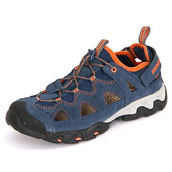 Meindl Junior Blau Orange Velourleder 205609   women shoes