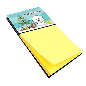 حامل Sticky Note كارولين الكنوز BB1589SN شجرة عيد الميلاد وبش فريزي