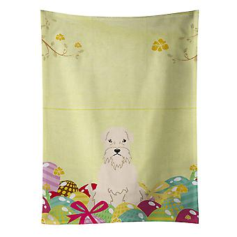 Easter Eggs Soft Coated Wheaten Terrier Kitchen Towel