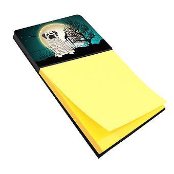 Halloween skummelt Mastiff Brindle hvit klistrelapp holderen