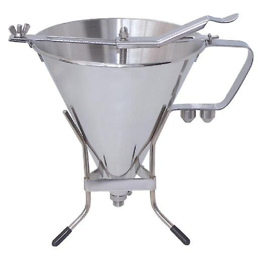 De Buyer Automatic Funnel, All Stainless, 3 Flow Rates With Support