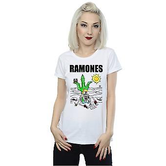 Ramones kvinders Loco Live T-Shirt
