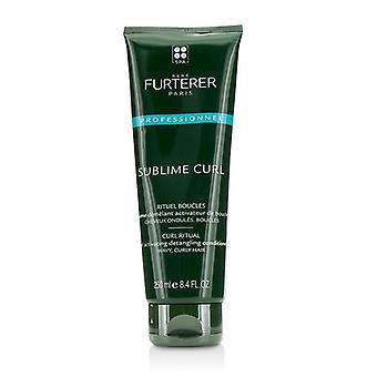 Rene Furterer Sublime Curl Curl Ritual Curl Activating Detangling Conditioner - Wavy Curly Hair (Salon Product) - 250ml/8.4oz