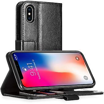 iPhone X кожаный бумажник ID