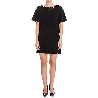 Boutique Moschino ladies A04956102555 black acetate dress