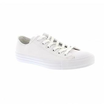 Converse Unisex Chuck Taylor All Star Leather 136823C - White Mens Trainers