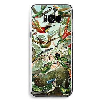 S8 de Samsung Galaxy Plus caja transparente (suave) - Haeckel Trochilidae