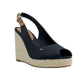 Tommy Hilfiger Womens Wedge Elena Midnight