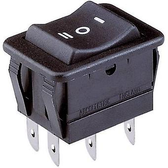 Toggle switch 250 V AC 16 A 2 x On/Off/On Arcolectric