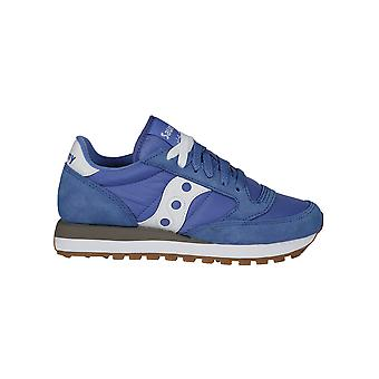 Saucony ladies 1044442 Blue Suede of sneakers
