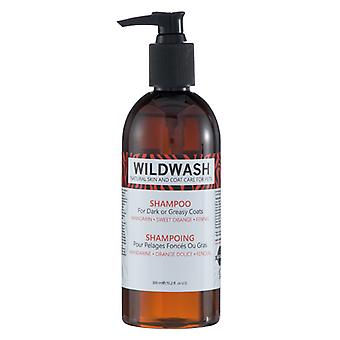 Wildwash Shampoo For Dark Or Greasy Coats 300ml