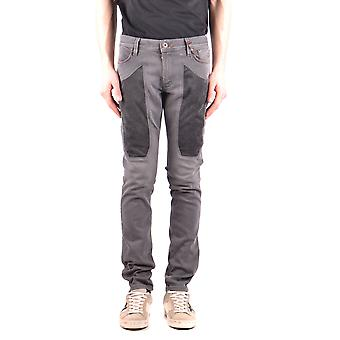 Enterprise men's MCBI162088O grey cotton of jeans