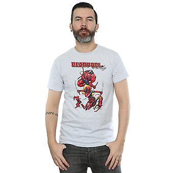 Marvel Men's Deadpool Family T-Shirt