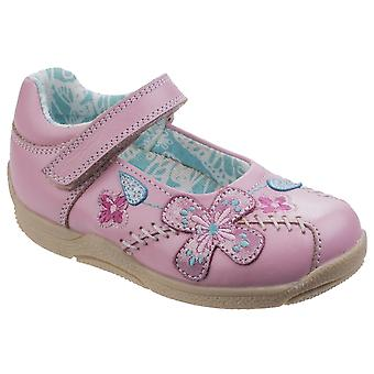Hush Puppies Girls Millie Shoes Pink F Fitting
