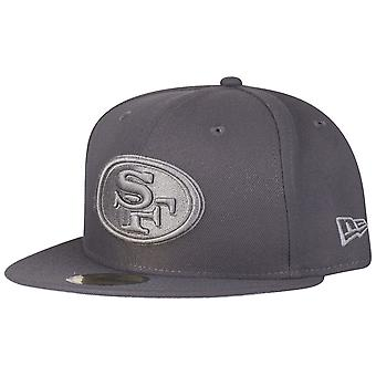 New era 59Fifty Cap - GRAPHITE San Francisco 49ers